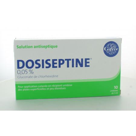 Dosiseptine 0,05% 5ml 10 unidoses