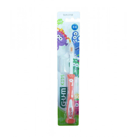 Brosse à dents Gum Sunstar Kids 3-6 ans