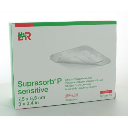 L&R Suprasorb P Sensitive7,5 X 8,5cm 10 pièces