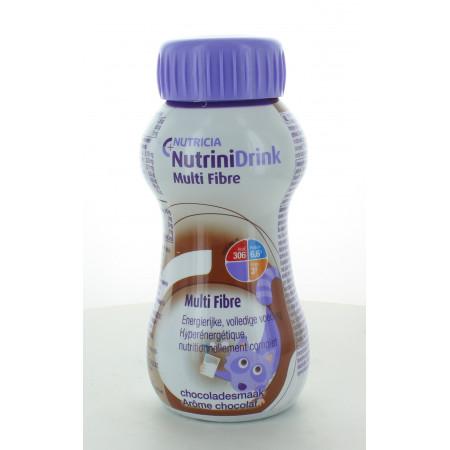Nutricia NutriniDrink Multi Fibre Arôme Chocolat 200ml