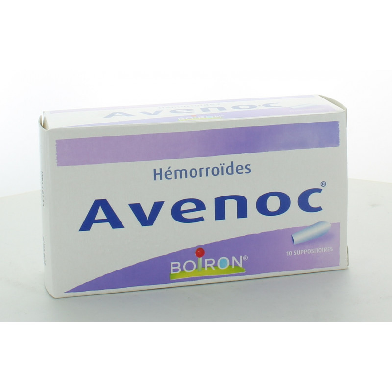 Boiron Avenoc Homorroïdes 10 suppositoires