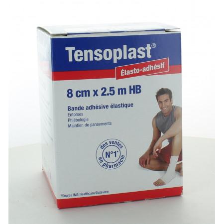 Tensoplast Bande Adhésive Elastique 8cm X 2,5cm