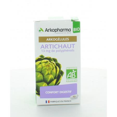 Arkopharma Arkogélules Artichaut 40 gélules