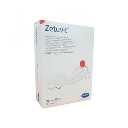 Zetuvit Pansements Absorbants 10X10cm 10 pièces