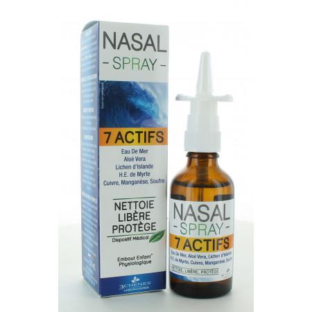 3 Chênes Nasal Spray 7 Actifs 50ml