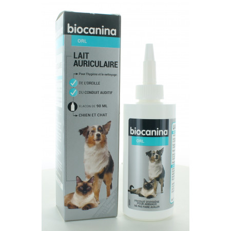Biocanina ORL Lait Auriculaire 90ml