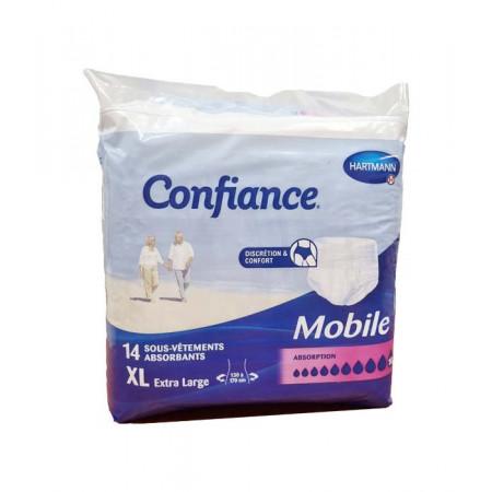 Confiance Mobile Sous-vêtements Absorbants XL 10 gouttes X14