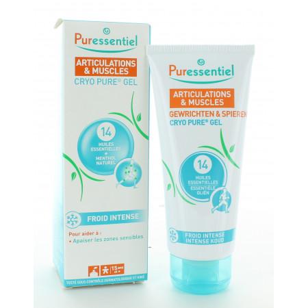 Puressentiel Cryo Pure Gel Articulations et Muscles 80ml