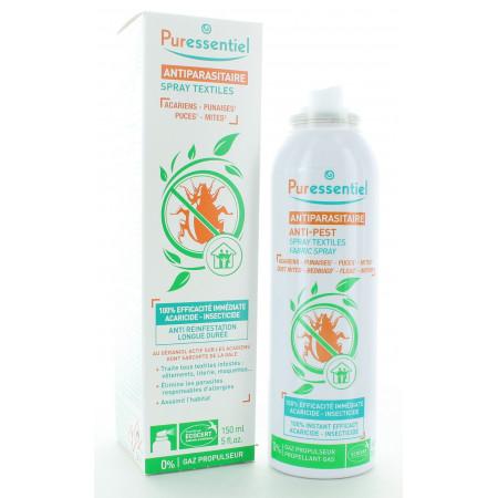 Puressentiel Antiparasitaire Spray Textile 150ml