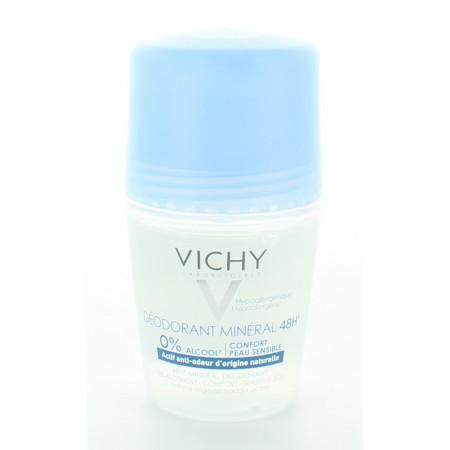 Vichy Déodorant Minéral 48h 50ml