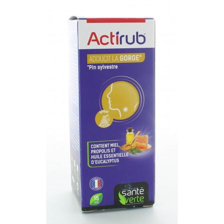Santé Verte ActiRub Spray Buccal 15ml