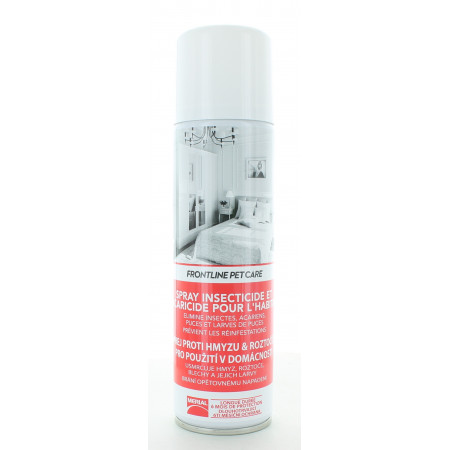 Frontline Pet Care Spray Insecticide et Acaracide 250ml