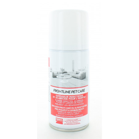 Frontline Pet Care Spray Insecticide et Acaracide 150ml
