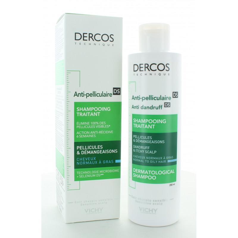 Dercos Anti-pelliculaire DS Shampooing Traitant 200ml