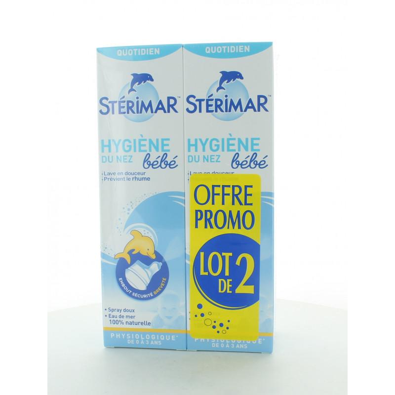 Stérimar Hygiène du Nez Bébé 2X100ml