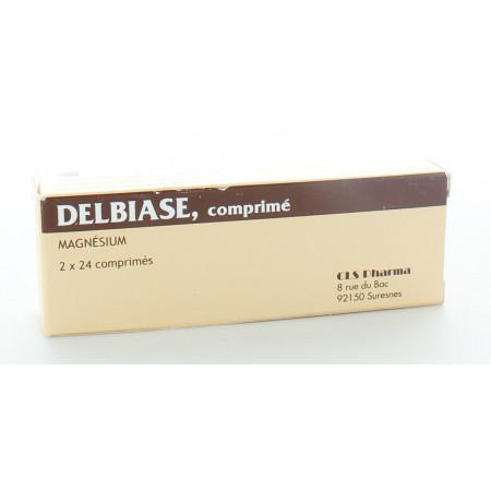 Delbiase Magnésium 2X24 comprimés