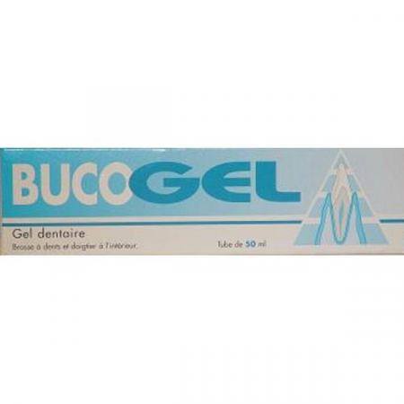 Bucogel Gel Dentaire 50 ml