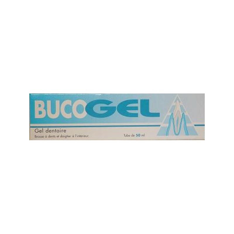 Bucogel Gel Dentaire 50 ml