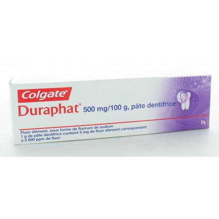Colgate Duraphat 500mg/100g Pâte Dentifrice 51g