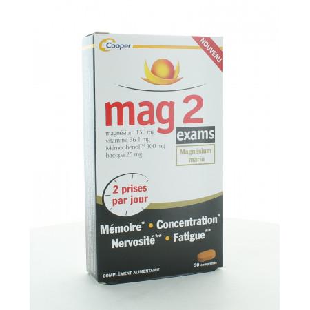 Mag 2 Exams Magnésium Marin 30 comprimés