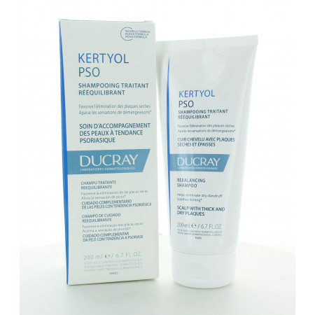 Ducray Kertyol PSO Shampooing Traitant Rééquilibrant 200ml