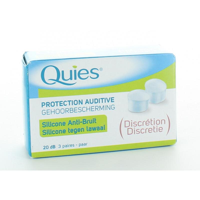 Quies Protection Auditive Discrétion 20db 3 paires