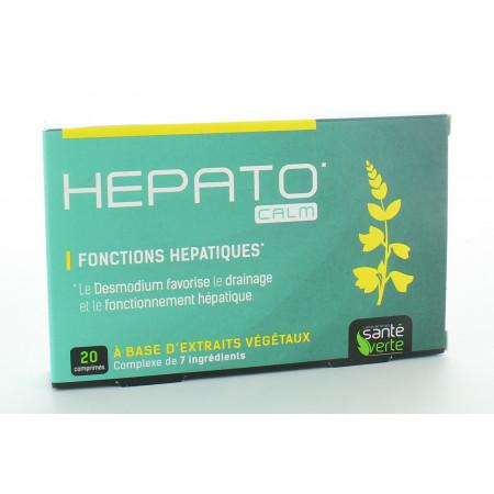 Santé Verte Hepato'Calm 20 comprimés