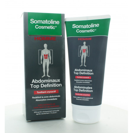Somatoline Cosmetic Homme Abdominaux Top Definition 200ml