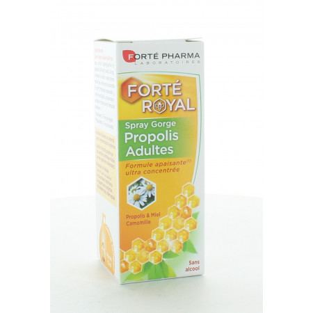 Forté Pharma Forté Royal Spray Gorge Propolis 15ml