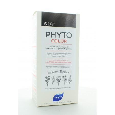 Phyto Color Kit Coloration Permanente 5 Châtain Clair