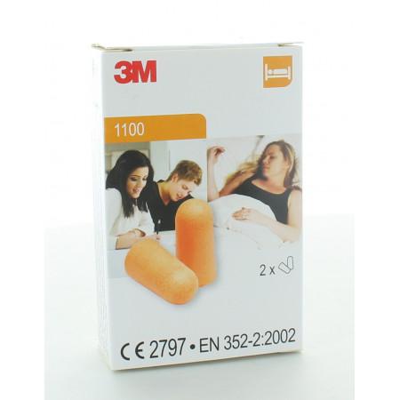 3M Bouchons d'Oreille 1100 X2 paires