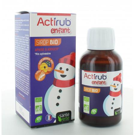Santé Verte Actirub Enfant Sirop Bio 125ml