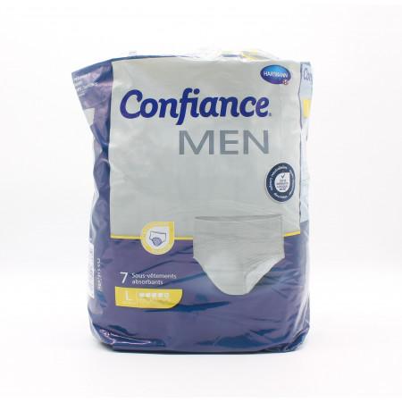Confiance Men Sous-vêtements Absorbants Taille L Niveau 5 X7