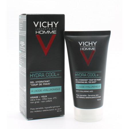 Vichy Homme Hydra Cool+ Gel Hydratant 50ml