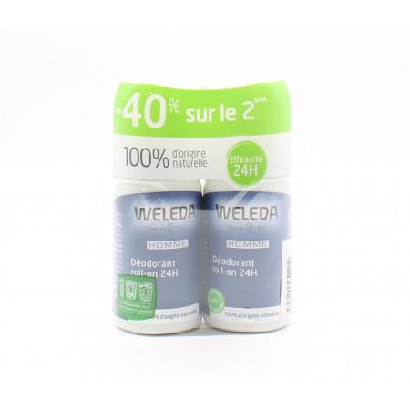 Weleda Déodorant Roll-on 24H 50mlX2