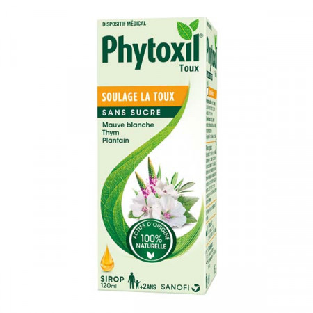 Phytoxil Toux Sirop Sans Sucre 120ml