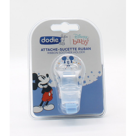 Dodie Attache-Sucette Ruban Disney Baby Mickey