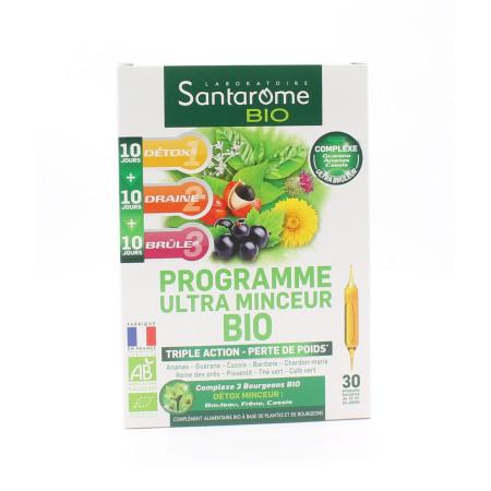 Santarome Bio Programme Ultra Minceur 30 Ampoules