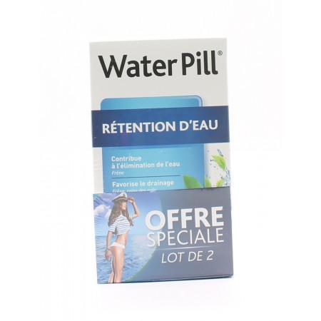 WaterPill Rétention d'Eau 30 comprimés X2