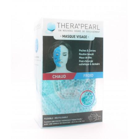 TheraPearl Poche Thermique Masque Visage 45.2X 24,1cm
