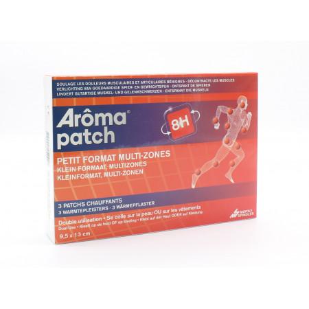Arôma Patch 8H Petit Format Multi-Zones Patchs Chauffants 9,5X13cm X3