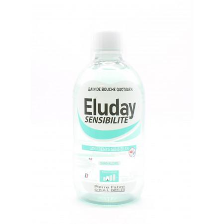 Eluday Sensibilité Bain de Bouche Quotidien Protection Chaud/Froid 500ml