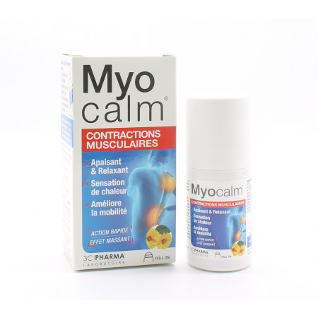 Myocalm Contractions Musculaires Roll On 50ml