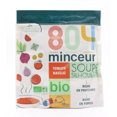 3 Chênes 804 Minceur Soupe Silhouette Tomate Basilic 180g