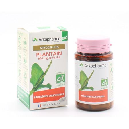 Arkopharma Arkogélules Bio Plantain 45 gélules