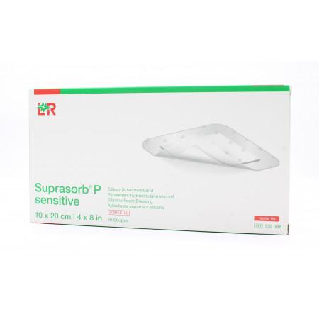L&R Suprasorb P Sensitive 10X20cm 10 pièces
