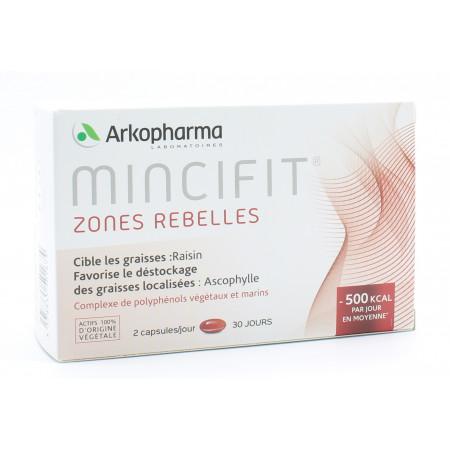 Arkopharma Mincifit Zones Rebelles 60 capsules