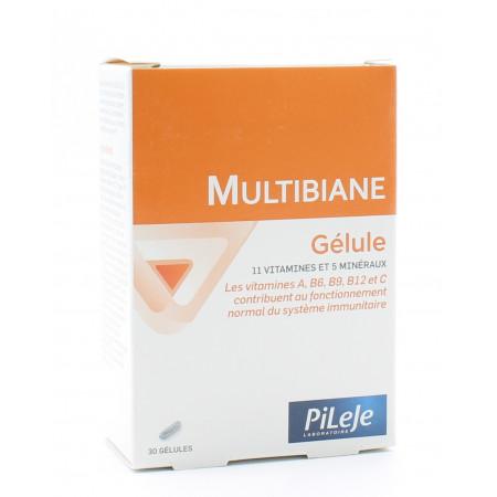 PiLeJe Multibiane 30 gélules