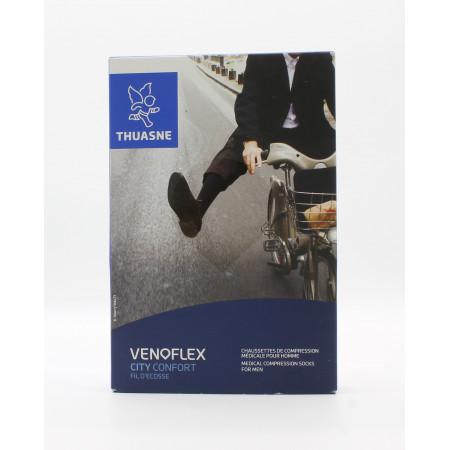 Thuasne Venoflex City Confort Fil d'Ecosse T2N Noir