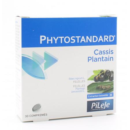 PiLeJe Phytostandard Cassis / Plantain 30 comprimés